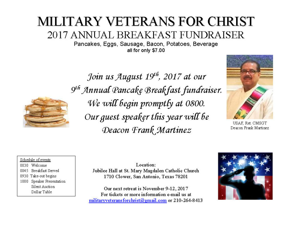 2017 Annual Breakfast Fundraiser
